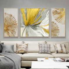 Small Canvas Paintings, Flower Painting Canvas, Modern Canvas Art, Modern Art Paintings, Abstract Paintings, Living Room Decor Cozy, Living Room Colors, Living Room Paint, Home Decor Bedroom