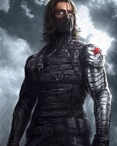 Winter Soldier!! Art by W-E-Z  #WinterSoldier #Avengers #CivilWar #Marvel #MarvelComics #Comics #ConceptArt #Art #Artist #Superhero