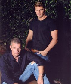 James Marsters and David Boreanaz