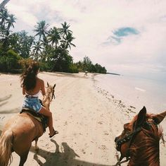 #beach#riding#horse