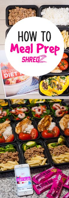 Meal Preps made easy with the help of #Shredz Personalized Diet ...