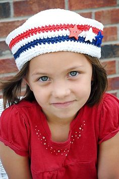 Sailor Hat Crochet Pattern Instant Download by adrienneengar