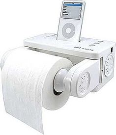 High-Tech Gadgets For the Bathroom! Hahahahahaha I cannot actually believe they would make something like this!!! hahaha