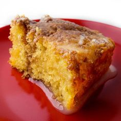 """Cinnamon Honeybun CakeI """"This cake was Awesome!!! My husband did not want to share this cake with anyone."""""""