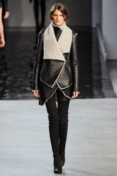Helmut Lang Fall 2012 Ready to Wear