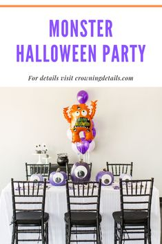 We are sharing how to DIY the purple eyeball pumpkin centerpieces, simple treat bags filled with the candies from the SKITTLES® candies and STARBURST® Fruit Chews Variety Bag that we picked up at Walmart, a simple printable that turns HUBBA BUBBA® BUBBLE TAPE® AWESOME ORIGINAL® Gum into eyeballs, and a fun printable Bingo game. Head over to the blog for all of the deets.  #ad #flauntyourhaunt #diymonsterhalloween #halloweenpartyideas #childrenshalloweenparty #kidshalloweenparty