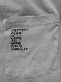 could do this to shirts, write different things