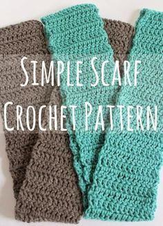 Simple Scarf Crochet Pattern