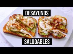 Tostadas con Huevo y Queso | Desayunos fáciles y rápidos - YouTube
