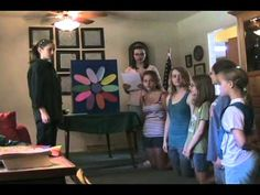 A cute video on how to do a Daisy girl scout investiture ceremony