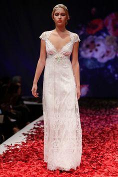 Claire Pettibone Fall 2014 Bridal. Image: Getty.