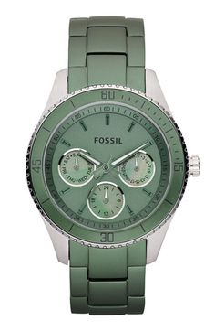 FOSSIL....green is my favorite color....I love this!
