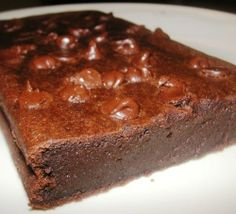 No Butter! Rich and Sticky Tofu Brownies