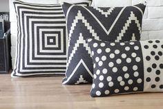 Linen pillow cover retro pillow cover vintage cushion