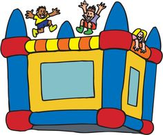 bounce house mygrafico com alreadyclipart carnival circus rh pinterest com bounce house clipart images jump house clipart