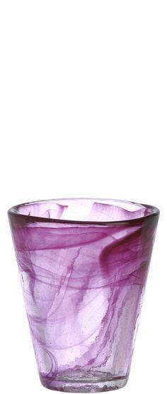 Retro swirl glass   Kosta Boda Mine Tumbler