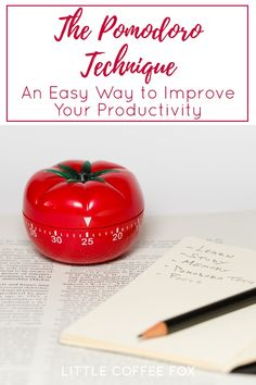 Whether you're a student looking for better study habits, a busy parent trying to juggle children and work and hobbies, or anyone else with a lot on their plate this spring, increasing your focus and productivity is always a good idea. The Pomodoro technique is a simple way to help you work smarter and focus more. #pomodorotechnique #pomodoromethod #pomodorotimer #whatispomodoro #productivity #timemanagement What Is Pomodoro, Pomodoro Method, Healthy Lunches For Kids, Healthy Toddler Meals, Toddler Food, Pomodoro Timer, Brush Lettering Worksheet, Good Study Habits, Bullet Journal For Beginners