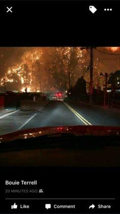 Gatlinburg fire November 28, 2016