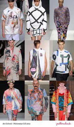 Menswear Print Trends   Spring/Summer 2013 Part 1 print pattern catwalks