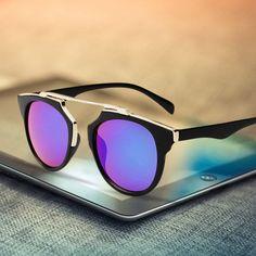 ab23b61e54 Encontrar Más Gafas de Sol Información acerca de 2015 nueva moda gafas de  sol Wayfarer de