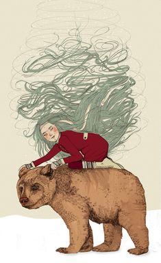 'Winter' by Sandra Dieckmann