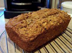 Healthy Date & Walnut Fruit Loaf (No Butter/Oil/Egg)