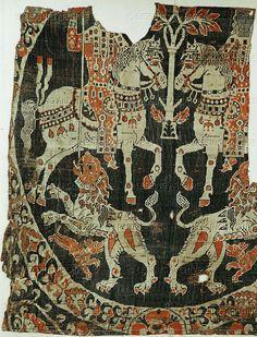 Byzantine textiles, 10-12th century.