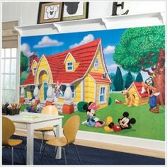 High Quality Disney Wall Murals For Kids Bedrooms Idea