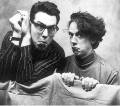 They Might Be Giants (American alternative rock band formed in 1982 by John Flansburgh and John Linnell) Music Film, Art Music, Best Insults, Band Pictures, Band Photos, Indie Pop, Music Humor, Music People, Film Books