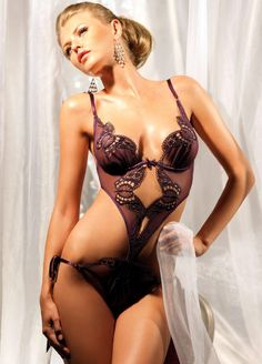 Teddies Careful Rene Rofe Black Teddy Set Excellent In Cushion Effect