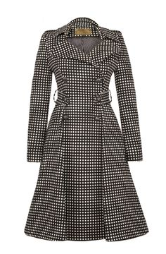 Lena Hoschek - Lafayette Coat...Need in all black w my blue scarf...@Jaleah McClain You know what I'm talking about..;)