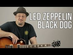 """How To Play Led Zeppelin """"Black Dog"""" on Guitar - Guitar Lesson - Les Paul Easy Guitar Songs, Guitar Tips, Guitar Lessons, Guitar Scales, Guitar Chords, Led Zeppelin Black Dog, Led Zeppelin Songs, Guitar Classes, Guitar Quotes"""