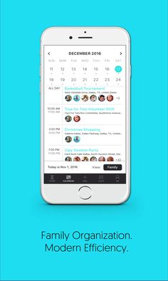 CURAGO is the only app you need to keep your  family organized.  For Free.