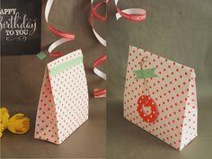Diese Geschenktüten sind schnell gemacht und sind bestens für Geschenke geeignet, die unförmig sind und sich nicht so einfach verpacken lassen. :) Schaut auch auf meinem Blog vorbei. Dort findet ihr noch einen Link für das Printable im Hintergrund. :) … weiterlesen