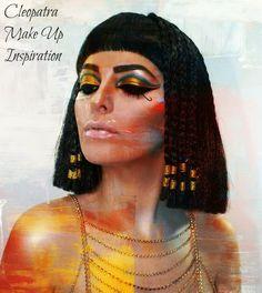 Schminken wie Cleopatra? Es is auch heutzutage möglich! Hier sind viele Cleopatra Schminken Tipps und Tricks! How to achieve that dramatic Cleopatra look? Here are some crazy ideas!