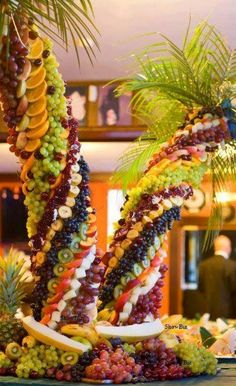 Don't use it to decorate tiny palm trees. | 16 Ideas For Amazing Fruit Salads