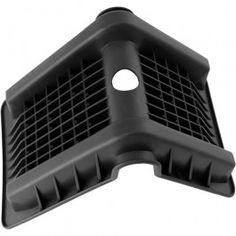 Cantoneras de plástico para embalaje, que protegen la carga. Evitan daños sobre el tejido de poliéster de las eslingas o las cinchas de amarre.