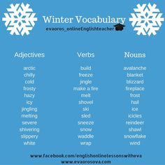 EFL Vocabulary - Seasons - Winter
