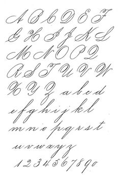 Depository Of Handwriting And Calligraphy Styles and Discussion - Calligraphy Discussions Copperplate Calligraphy, Calligraphy Handwriting, Calligraphy Alphabet, Penmanship, Caligraphy, Script Alphabet, Hand Lettering Alphabet, Script Fonts, Creative Lettering