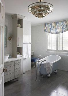 Luxurious and Tranquil Contemporary Bathroom design on Chicago North Shore Contemporary Bathroom Designs, Contemporary Style, Standing Shower, Residential Interior Design, Design Awards, Master Bathroom, Custom Design, Interiors, North Shore