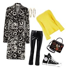 Untitled #32 by gantobri on Polyvore featuring polyvore STELLA McCARTNEY Tory Burch Helmut Lang Converse Dolce&Gabbana Kenneth Jay Lane fashion style clothing
