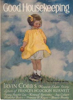 July 1925 Good Housekeeping Cover Only Jessie Wilcox Smith from azpaperlady on Ruby Lane