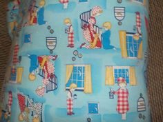 Darling Sweet Cilds Quilt with Boy by Daysgonebytreasures on Etsy