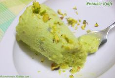 Kulfi - Indian Pistachio Ice Cream