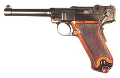 The little known .45 Luger. Designed for the US military pistol trials of 1911 by George Luger. Pistols were actually issue to troops in the field with specific equipment & support. It performed very well, but lost out to a pistol manufactured in the U.S.A. by Colt Firearms Co. of Hartford, CT.
