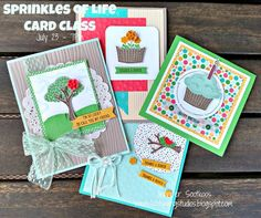 Sprinkles of Life Card Class