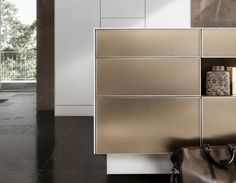SieMatic PURE - SE 3003 R goldbronce