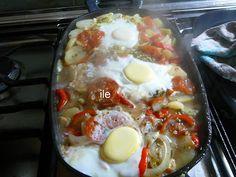 Bifes a la criolla    Esta receta la encontras en   http://ile-recetas.blogspot.com.ar/2012/09/bifes-la-criolla.html