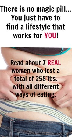 7 REAL Women lose a total of 258 lbs. with very different diets