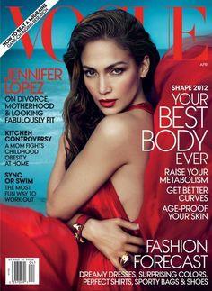 Jennifer Lopez for Vogue US, April 2012 | Photo Mert & Marcus